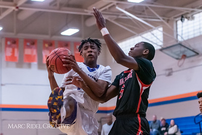 Broughton boys varsity basketball vs Middle Creek. January 21, 2019. 750_5215
