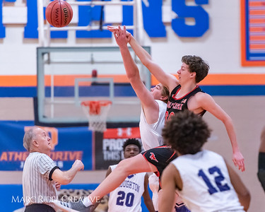Broughton boys varsity basketball vs Middle Creek. January 21, 2019. 750_5184