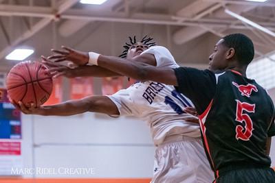 Broughton boys varsity basketball vs Middle Creek. January 21, 2019. 750_5218