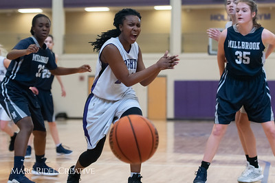 Broughtongirls JV basketball vs Millbrook. February 14, 2019. 750_6928