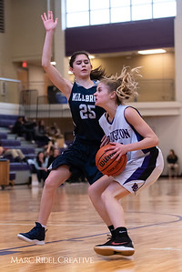 Broughtongirls JV basketball vs Millbrook. February 14, 2019. 750_6892