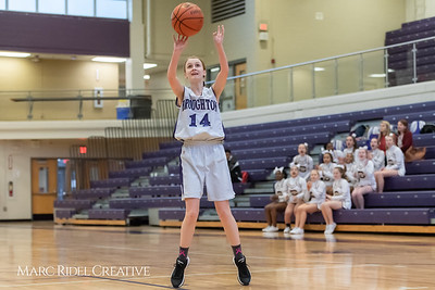 Broughtongirls JV basketball vs Millbrook. February 14, 2019. 750_6983
