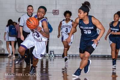 Broughton girls varsity basketball vs Millbrook. February 15, 2019. 750_7344