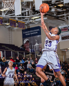 Broughton girls varsity basketball vs Millbrook. February 15, 2019. 750_7365
