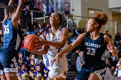 Broughton girls varsity basketball vs Millbrook. February 15, 2019. 750_7377