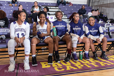 Broughton girls varsity basketball vs Millbrook. February 15, 2019. 750_7234