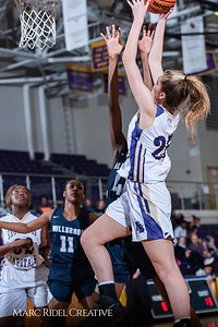 Broughton girls varsity basketball vs Millbrook. February 15, 2019. 750_7285