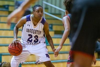 Broughton girls varsity basketball vs Rolesville. MRC_8757