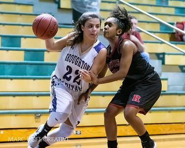 Broughton girls varsity basketball vs Rolesville. MRC_8819