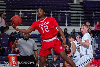 Broughton boys JV basketball vs Sanderson. February 11, 2019. 750_5612