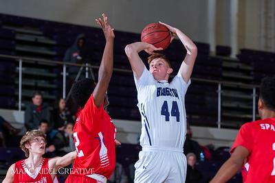 Broughton boys JV basketball vs Sanderson. February 11, 2019. 750_5605