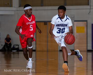 Broughton boys JV basketball vs Sanderson. February 11, 2019. 750_5609