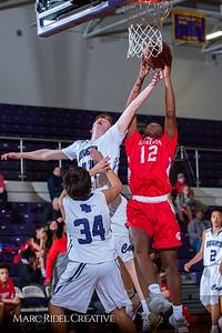 Broughton boys JV basketball vs Sanderson. February 11, 2019. 750_5611