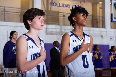 Broughton boys JV basketball vs Sanderson. February 11, 2019. 750_5560