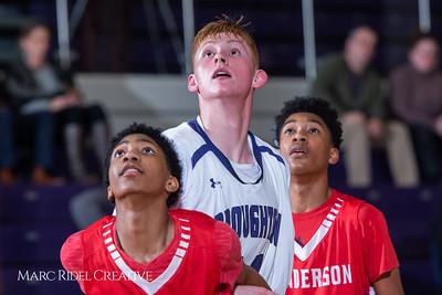 Broughton boys JV basketball vs Sanderson. February 11, 2019. 750_5652