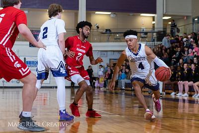 Broughton boys varsity basketball vs Sanderson. Play 4 Kay. January 17, 2019. 750_4685