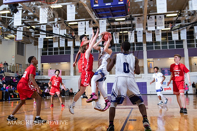 Broughton boys varsity basketball vs Sanderson. Play 4 Kay. January 17, 2019. 750_4719