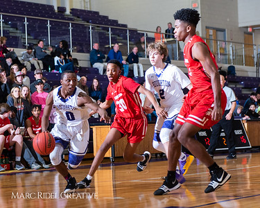 Broughton boys varsity basketball vs Sanderson. Play 4 Kay. January 17, 2019. 750_4718