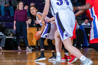 Broughton girls JV basketball vs Sanderson. February 11, 2019. 750_5310