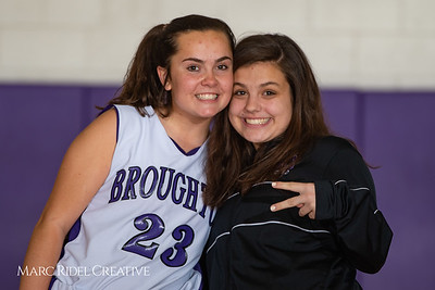 Broughton girls JV basketball vs Sanderson. February 11, 2019. 750_5186