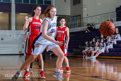 Broughton girls JV basketball vs Sanderson. February 11, 2019. 750_5298