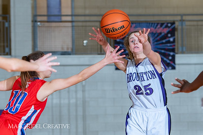 Broughton girls JV basketball vs Sanderson. February 11, 2019. 750_5255
