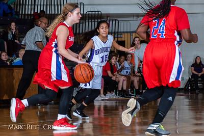 Broughton girls JV basketball vs Sanderson. February 11, 2019. 750_5314