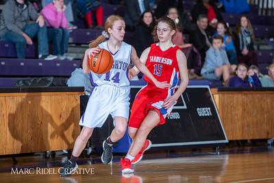 Broughton girls JV basketball vs Sanderson. February 11, 2019. 750_5351