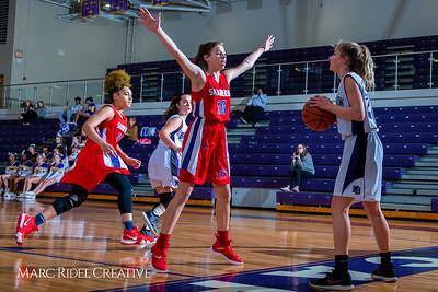 Broughton girls JV basketball vs Sanderson. February 11, 2019. 750_5280