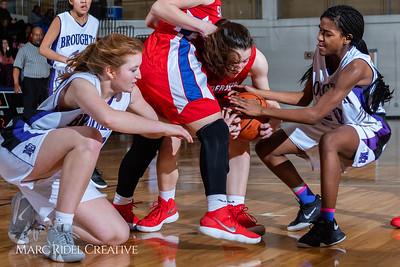 Broughton girls JV basketball vs Sanderson. February 11, 2019. 750_5317