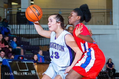 Broughton girls JV basketball vs Sanderson. February 11, 2019. 750_5272