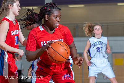 Broughton girls JV basketball vs Sanderson. February 11, 2019. 750_5206