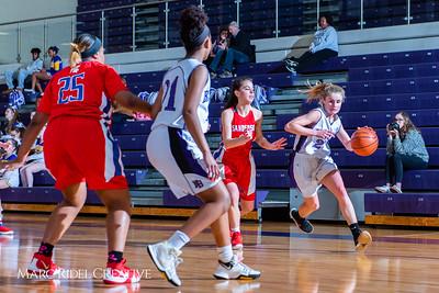Broughton girls JV basketball vs Sanderson. February 11, 2019. 750_5283