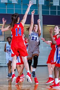Broughton girls JV basketball vs Sanderson. February 11, 2019. 750_5276