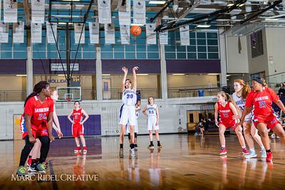 Broughton girls JV basketball vs Sanderson. February 11, 2019. 750_5288