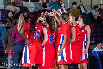 Broughton girls JV basketball vs Sanderson. February 11, 2019. 750_5347