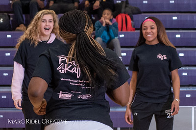 Broughton girls varsity basketball vs Sanderson. Play 4 Kay. January 17, 2019. 750_4279