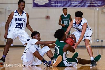Broughton boys JVbasketball vs Southeast Raleigh.  January 28, 2019. 750_8635