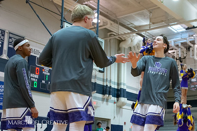 Broughton boys varsity basketball vs Southeast Raleigh. Cap-7 semi-finals at Millbrook. February 21, 2019. D4S_0541