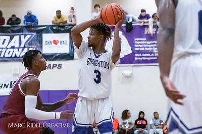 Broughton boys varsity basketball vs Trinity. MRC_9352
