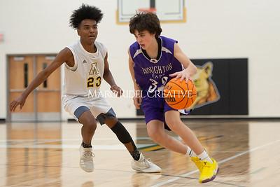 Broughton JV and varsity boys basketball at Apex. December 4, 2019. D4S_0865