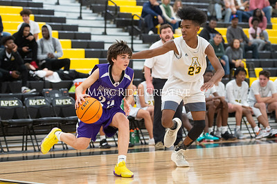 Broughton JV and varsity boys basketball at Apex. December 4, 2019. D4S_0905