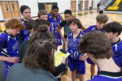 Broughton JV and varsity boys basketball at Apex. December 4, 2019. D4S_0975