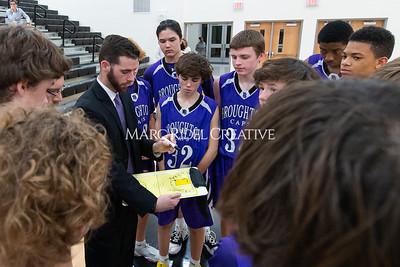 Broughton JV and varsity boys basketball at Apex. December 4, 2019. D4S_0979