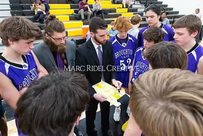 Broughton JV and varsity boys basketball at Apex. December 4, 2019. D4S_0981