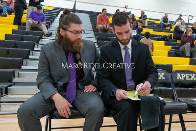 Broughton JV and varsity boys basketball at Apex. December 4, 2019. D4S_0969