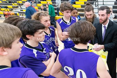 Broughton JV and varsity boys basketball at Apex. December 4, 2019. D4S_0983
