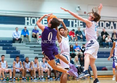 Broughton JV basketball vs Millbrook. January 13, 2020. D4S_8595