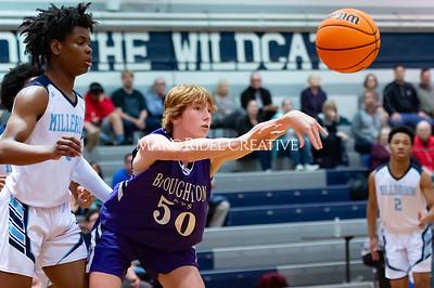 Broughton JV basketball vs Millbrook. January 13, 2020. D4S_8437