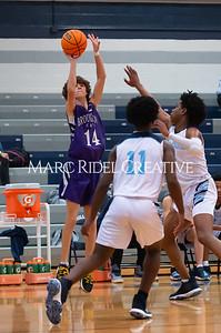 Broughton JV basketball vs Millbrook. January 13, 2020. D4S_8464